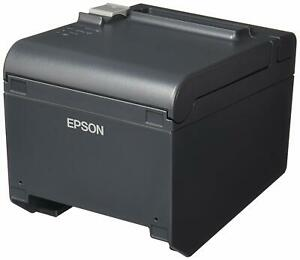 Epson Tm t20ii Pos Thermal Receipt Printer Dark Gray C31cd52062