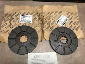 Pair Of 2 Case Ih Brake Disc Part 1975463c2 For Tractor 656 664 666 686 Nos