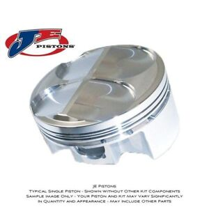 Je Forged Pistons 329633 Small Block Chevy 400 4 135 Bore 3 750 Stroke