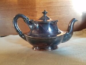 Reed And Barton Silver Soldered Teapot 406 1 P March 20 1906 March 12 1907