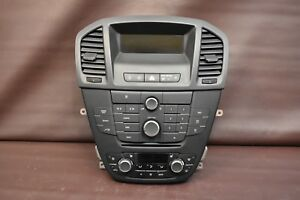 11 13 Buick Regal Factory Stereo Radio Control Panel Faceplate Ac Control Screen
