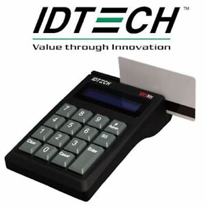 New Id Tech Mag Stripe Card Reader
