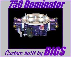 Bigs 750 Hp Dominator Carburetor Carb
