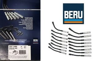 New Beru Oem Spark Plug Wire Set Mercedes benz 1131500019 M113 V8 Zef1488 Amg