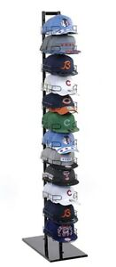 Baseball Cap Rack Tower Display 120 Hat 12 tier Floor Standing Store Fixture New