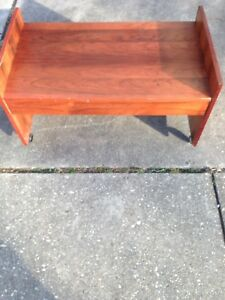 Very Unique Mid Century Rosewood Stereo Tv Stand By Johannes Sorth For Bornholm