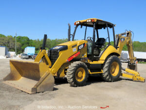 2014 Caterpillar 420f 4wd Backhoe Wheel Loader Tractor 4x4 Bidadoo