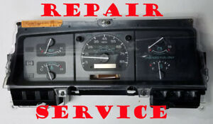 Ford Van E 150 E250 E350 E450 Digital Odometer 1995 Instrument Cluster Repair