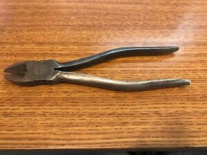 Snap On Tools 87 Diagonal Wire Side Cutters 7 1 4 Long Jaw Length 15 16