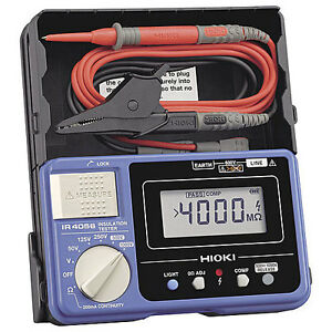 Hioki Ir4056 20 Insulation Tester