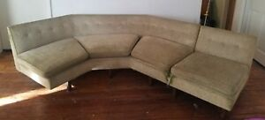 Edward Wormley For Dunbar Mid Century Sectional Sofa