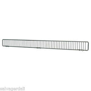 Front Fence Gondola Shelf Chrome Lozier Madix Made In Usa 48 X 3 Lot Of 50 New
