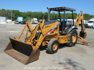 2004 Case 580m Series 2 Backhoe Wheel Loader Diesel 82 Bucket Tractor Bidadoo