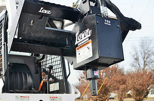 Bobcat Skid Steer Attachment Lowe 750 Hex Classic Auger Drive Unit Ship 199
