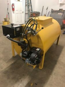 Asphalt Seal Coat Sealcoating Tank Equipment Driveway Machine