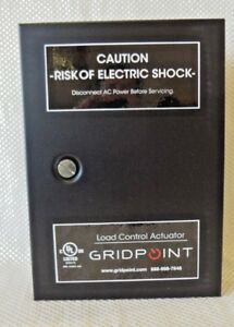 Gridpoint Load Control Actuator Lca Type 1 Enclosure Control Circuit Panel