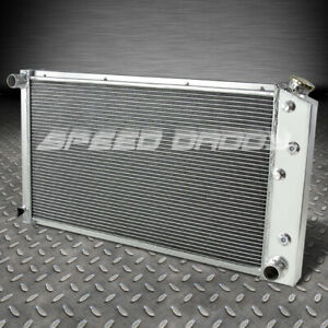 For 72 90 Chevy Chevelle Caprice 3 Row Aluminum Core Racing Cooling Ra