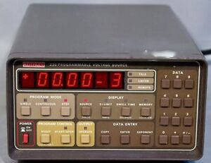 Keithley 230 Programmable Voltage Source Range 100mv To 100v Tested