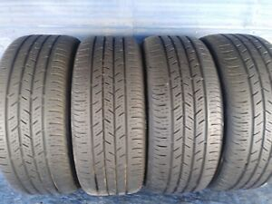 4 Continental Pro Contact Ssr Rft 225 45 17 Bmw With 6 25 7 32nd Tread Left 91 H