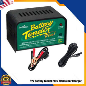 Battery Plus Tender 12v For Motorcycle Car Truck Battery Maintainer Charger