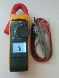 Fluke 902 Fc True Rms Ac Hvac Clamp Meter Multimeter Test Lead Probes