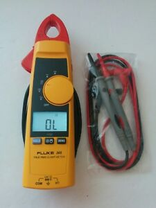 Fluke 365 True rms 200a Ac Dc Current Amp Clamp Meter Detachable Jaw Multimeter