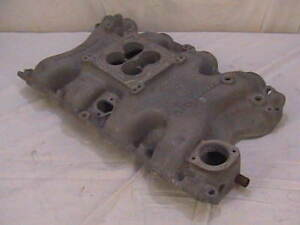 Bb Ford Intake Manifold Offenhauser Big Block Ford 460 Offy Dual Port 4 Bbl Bbf