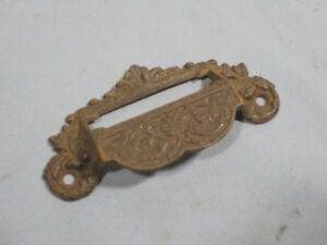 Old Drawer Pull Antique Cabinet Workbench Hardware Furniture Pull