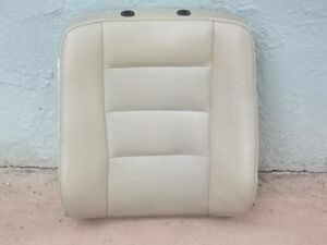 Mercedes Benz W126 Original Leather Seat top Side Beige Cream Years 88 91