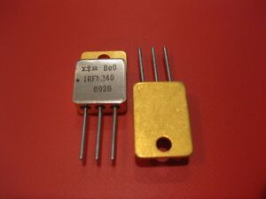 Irfm240 High Reliability N channel Power Mosfet 200v 18a Qty 2