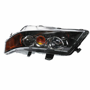 New For 2004 2005 Acura Tsx Driver Side Head Lamp Lens Ac2518106
