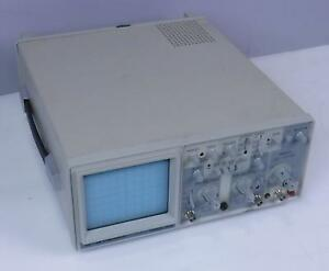 Bk Precision 2120 20 Mhz 2 Channel Oscilloscope Tested Working