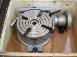 8 Horizontal Vertical Rotary Table new