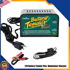 Deltran Battery Tender Plus Maintainer Charger 021 0128 12 Volt Trickle