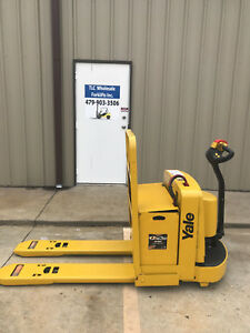 2002 Yale Electric Pallet Jack Model Mpw060 Forklift Walkie Only 3321 Hours