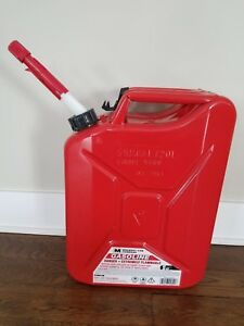 Midwest Can Company Jerry Gas Can 5 Gallon Metal