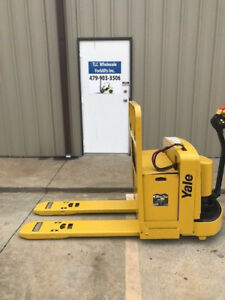 2004 Yale Electric Pallet Jack Model Mpw060 Forklift Walkie Only 5390 Hours