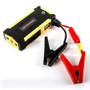 Portable Car Battery Jump Starter And Power Bank 600a 16500mah Jumper Cables Kit