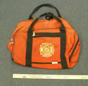 Red Firefighter Turnout Gear Bag 18 X 12 X 12 B5
