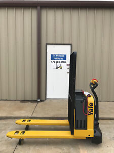 2014 Yale Electric Pallet Jack Model Mpw050 Forklift Walkie Only 1425 Hours