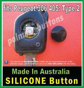 Fits Peugeot 106 306 405 Remote Key 1 Repair Button For Switch With Intact Tip