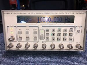 Stanford Research Systems Dg535 4 Channel Digital Pulse Generator Option 1 2