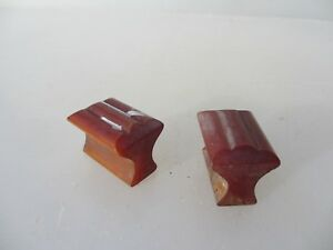 Vintage Bakelite Drawer Handle Cupboard Pull Art Deco Old Butterscotch Amber