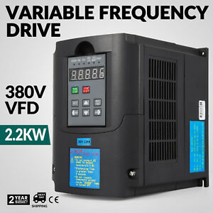 3hp 2 2kw Variable Frequency Drive Vfd Single Phase Avr Cnc Solutions Good