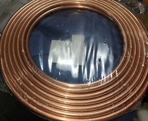 Mueller Streamline Coil Copper Refrigeration Tube 1 2 X 0 032 X 50 D 08050