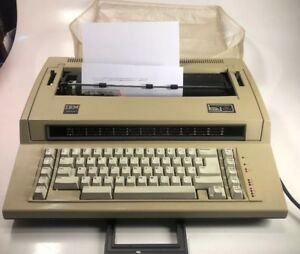 Vtg Ibm Actionwriter 1 Electric Typewriter 6715 001 Works Great