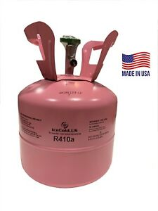 R410a R 410a R 410a Refrigerant 7 5lb Tank New Factory Sealed made In Usa
