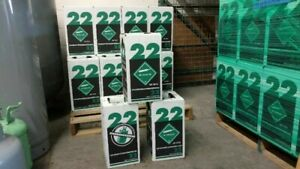 New R 22 Virgin Refrigerant Factory Sealed 15 Lbs Free Same Day Shipping