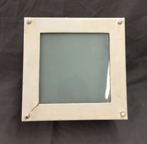 Vintage Square Recessed Ceiling Light Mid Century Closet Hall Old 67 19d