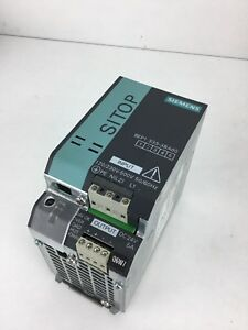 Siemens Power Supply 6ep1 333 3ba00 1 5a 24vdc Out 120 230 Vac Input